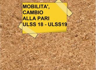INFERMIERE: Mobilità cambio alla pari da ULSS18 a ULSS19