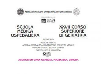 SCUOLA MEDICA OSPEDALIERA: XXVII CORSO SUPERIORE DI GERIATRIA