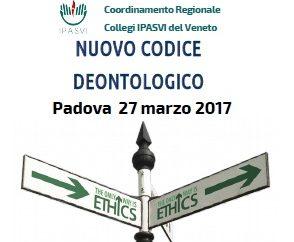 ECM Gratuito iscritti IPASVI Veneto: Il Nuovo Codice Deontologico