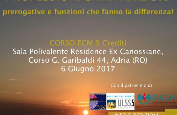 APSILEF: CORSO ECM: IL FUTURO E' ADESSO, PROFESSIONI SANITARIE 3.0, prerogative e funzioni che fanno la differenza!