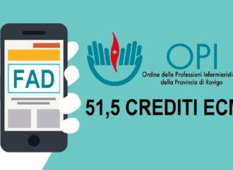 FAD offerta formativa 2019 gratuita per iscritti OPI.