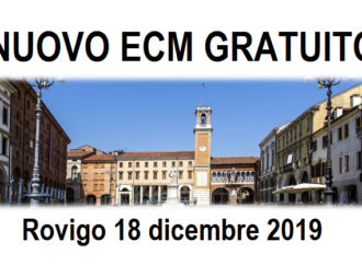Nuovo corso ECM gratuito – 9,2 crediti. Rovigo, 18 Dicembre 2019: LA GESTIONE DELLE PRESCRIZIONI DIAGNOSTICO-TERAPEUTICHE. Responsabilità dell'infermiere e strumenti operativi