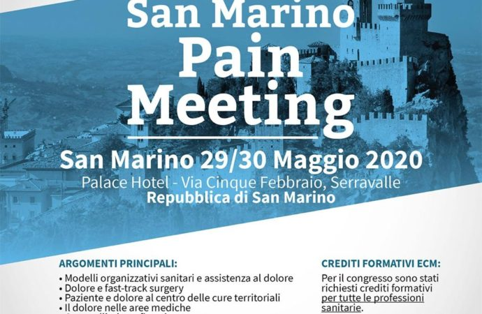 SAN MARINO PAIN MEETING