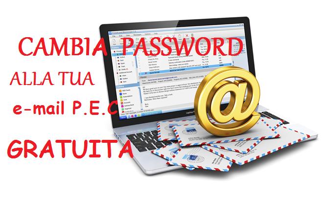 Avviso: PEC iscritti. E' necessario modificare la propria password entro il 30 marzo.